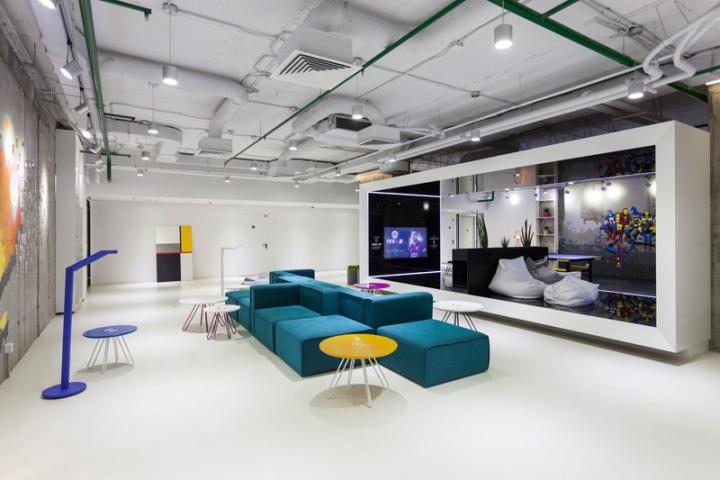 Playtech 39 s impressive office in kiev ukraine eoffice for Office design game