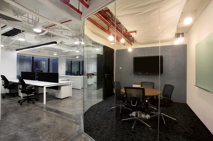 Office space meeting room
